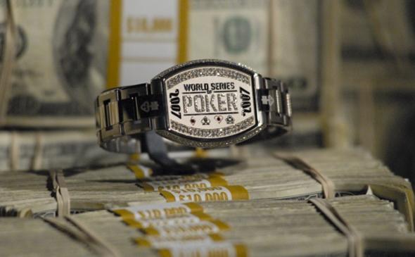 WSOP Grand Champions Bracelet with Money