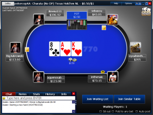 Бонус в покер руме Poker770