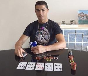 Криштиану Роналду скоро станет членом команды профессионалов PokerStars?